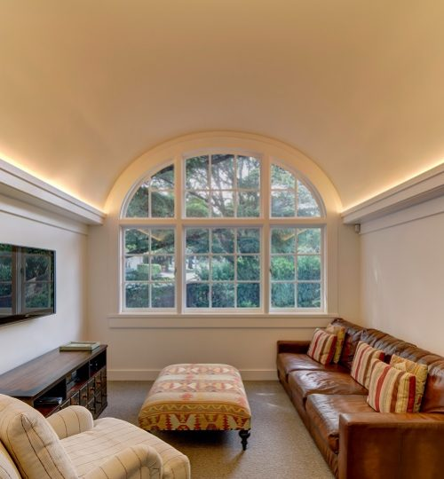 Sydney plastering arched ceiling